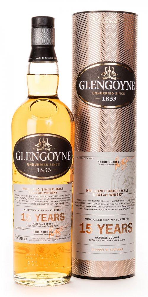 Glengoyne 15 Jahre 0,7L 43% Vol